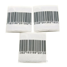 RF Kecil Square Garment Elektronik Shelf Mini Hammer Tag / Label Barcode Tahan Lama