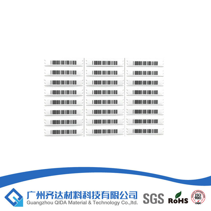 Magnetic AM Library Barcode Security Label Semi - Hard AM label, Sourcing Tag pemasok